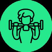 Icone de levantamento